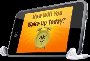 wake up ipod